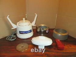 Olympic Juicer Extractor Omega Mod 1000 Fruit and Vegetable Centrifugal Complete