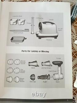 Omega 8004 Heavy Duty Nutrition Center Masticating Juicer Complete