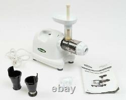 Omega 8004 Nutrition Center Juicer Compact, Quiet, Heavy Duty