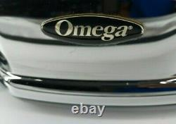 Omega 8006 Dual Stage 120V Slow Speed Masticating Juicer Diet Juicing Extractor