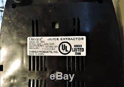 Omega Fruit and Vegetable Juicer/Processor 8006