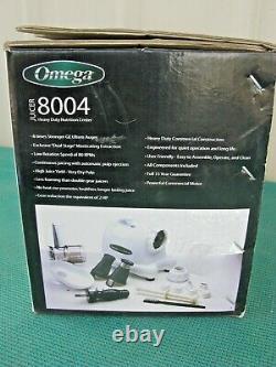 Omega J8004 150-Watt Quiet Dual-Stage Slow Speed Masticating Juicer
