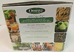 Omega J8006HDC 200W 64Oz. Masticating Juicer Black/Chrome