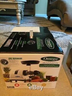 Omega J8006HDS Nutrition Center! BRAND NEW SEALED PACKED! 15 YRS WARRANTY