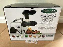 Omega Juicer Nc900hdc Juice Extractor & Nutrition Mint Condition Used Once