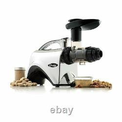 Omega Kitchen Juicer Extractor Nutrition Center 150 Watt Metallic Quiet NC900HDC
