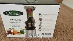 Omega MMV700S Megamouth Juicer Low Speed and Nutrition System Genuine