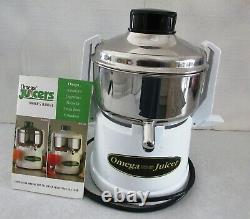 Omega Model 9000 Household And Commercial Fruit And Vegetable Juicer