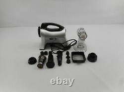 Omega NC1000HDS Juicer Extractor Nutrition System, 200-Watt, Silver