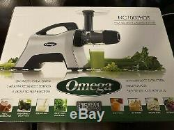 Omega NC1000HDS Slow Masticating Juicer Nutrition Center BPA-FREE, 200-Watts