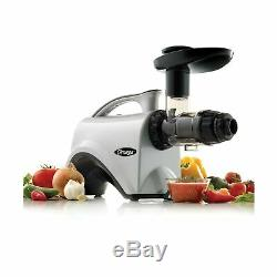 Omega NC800HDS Juicer Extractor and Nutrition Center Creates Fruit Vegetable