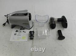 Omega NC800HDS Juicer Extractor and Nutrition System, 150-Watt, Silver