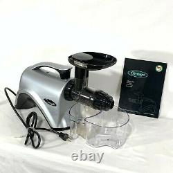 Omega NC800S Juicer Slow Masticating Extractor Nutrition Ctr Noodles 14pc+Manual