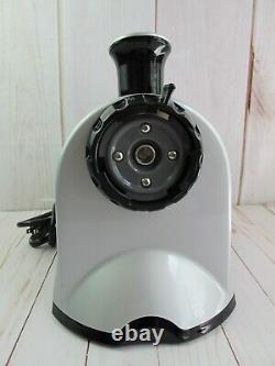 Omega NC800S Juicer and Nutrition Center Piece Silver NEW