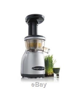 Omega VRT350 Heavy Duty Dual-Stage Vertical Low Speed Juicer NIB SHIP FROM STORE