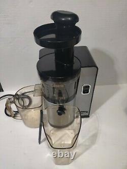 Omega VSJ843QS Juicer Vertical Slow Masticating Juice Extractor 43 RPM Compact D