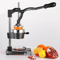 Orange Hand Press Commercial Citrus Fruit Lemon Juicer Juice Squeezer HomeKitche