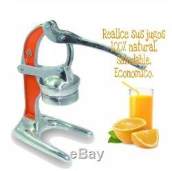 Orange Hand Press Commercial Manual Citrus Fruit Lemon Juicer Juice Squeezer