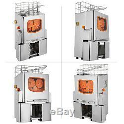 Orange Squeezer Juice Extractor 22-25oranges/minute Fruit Juicer Auto feed