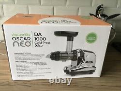 Oscar Neo Cold Press Juicer DA 1000 New In Box