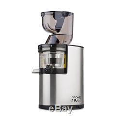Oscar Neo XL Whole Fruit Juicer Professional Slow Juicer, Wide Mouth Juice