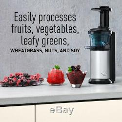 Panasonic Juicer MJ-L500 Machine Whole Fruit Vegetable Juice Maker Open Box