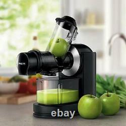 Philips Viva Cold Press Masticating Slow Juicer with X-Large Feed Tube, Drip