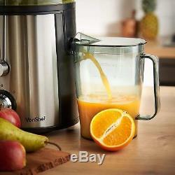 Powerful 1.1L Whole Fruit Vegetable Centrifugal Juice Extractor Juicer Machine