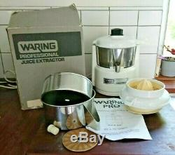 Professional Industrial Waring Juice Extractor PJE50X Stainless Steal