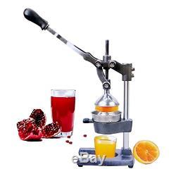 Professional Manual Citrus Press Large Fruit Juicer Machine Orange Juice Presser