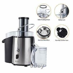PureMate 1000W NaturoPure Powerful Whole Fruit and Vegetable Juice Extractor