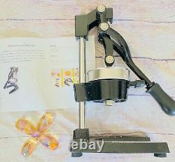 ROVSUN Commercial Grade Citrus Juicer Hand Press Manual Fruit Juicer Black