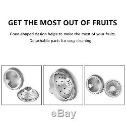 ROVSUN Commercial Grade Citrus Juicer Hand Press Manual Fruit Juicer Juice Sq
