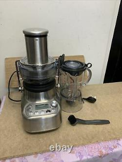 SAGE 3X Bluicer Pro SJB815BSS Juicer Brushed 10 Speed Stainless Steel Currys