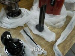 SKG Q8 Slow Masticating Juicer Wide Chute BPA Free Anti-oxidation Easy to Clean