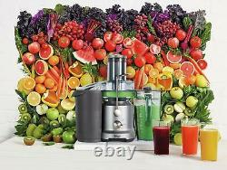 Sage, the Nutri Juicer Cold Fountain Centrifugal Juicer Silver