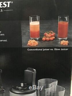 SilverCrest Slow JUICER FOR MAKING FRESH FRUIT Juice