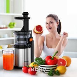 Slow Health Electric Juicer Easy Fruit Juice Masticating Extractor Stirrer I5G7