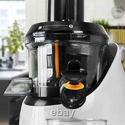 Slow Juicer Masticating Cold Press Juice Extractor Juicing Fruit and Vegetables