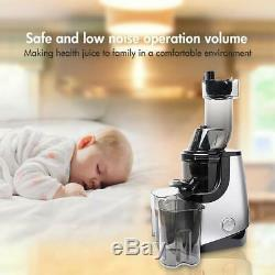 Slow Juicer Masticating Extractor High Nutrient Fruit Vegetable Juice Maker