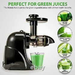 Slow Masticating Horizontal Juicer Machine with Cold Press Extractor