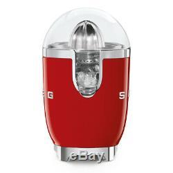 Smeg CJF01RDUK Red 50s Style Retro Citrus Juicer + 2 Year Warranty (New)