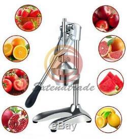 Squeezer Orange Fruit Juice Extractor Stainless Steel Manual Hand Press Juicer