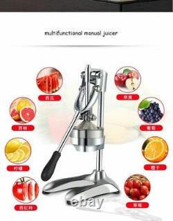 Stainless Steel Citrus Fruit Squeezer Orange Lemon Juicer Pressing Machine Juice