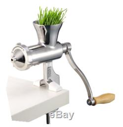 Stainless Steel Hand Juicer Wheat Grass Squeezer Fruit Vegetable Juice Extractor