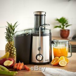Stainless Steel Juicer Healthy Breakfast Fruits Vegetables Carrots Juice Maker