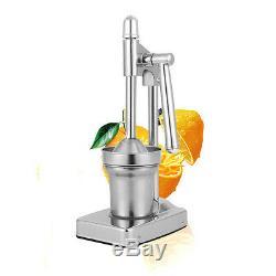 Stainless Steel Juicer Manual Orange Lemon Squeezer Fruit Reamer Machine