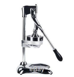 Stainless Steel Manual Citrus Fruit Juicer Juice Extractor Hand Press Juicer