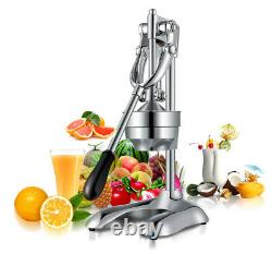 Stainless Steel Manual Fruit Juicer Orange Fruit Pressure Juice Machine