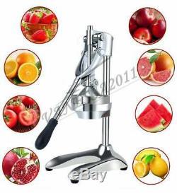 Stainless Steel Manual Hand Press Juicer Squeezer Orange Fruit Juice Extractor